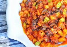 Sambal Goreng Kentang Ati (tanpa santan) foto resep utama Fish Recipes, Baby Food Recipes, Asian Recipes, Beef Recipes, Chicken Recipes, Cooking Recipes, Ethnic Recipes, Indonesian Cuisine, Indonesian Recipes