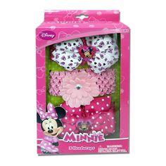 mm1069-LA - Minnie Mouse headwrap w/ grosgrain bow (Available Now)