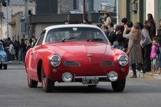Red Karmann Ghia