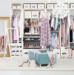 Walk in closet on a budget / så gör du din walk in closet utan att bli ruinerad