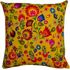 Designer decorative Folk pillow № gd417