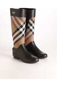 Burberry Clemence Rain Boot