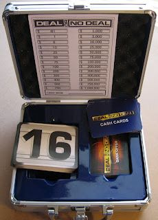 Deal or no deal- Math Probability game.  I plan on doing this with the probability unit next year!