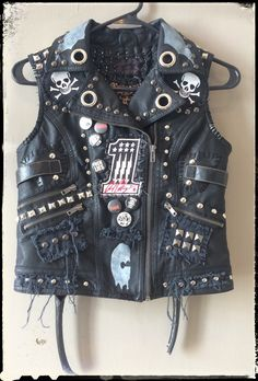 Rocker vest by Chad Cherry from Chad Cherry Clothing.