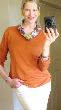 MaiTai's Picture Book: Scarf necklace