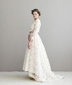Bridal Separates 22 Brides Who Look Gorgeous in Their Two-Piece Wedding Dresses!
