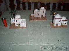 Resultado de imagen de casas del belen Board Games, Advent Calendar, Nativity, Triangle, Holiday Decor, Portal, Christmas, Home Decor, Ideas