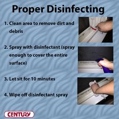 Four steps to ensure you're disinfecting surfaces properly