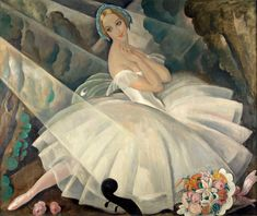 Ulla Poulsen in the ballet Chopiniana by Gerda Wegener in 1927 || The Danish Girl tells the story of the painter Einar Wegener, who had the world's first gender-reassignment surgery and became Lili Elbe. But his wife Gerda had a fascinating life and career of her own
