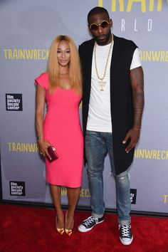 LeBron James   His Queen Savannah James Get Fab At  Trainwreck  NYC  Premiere + Method Man 9d13bb53f0
