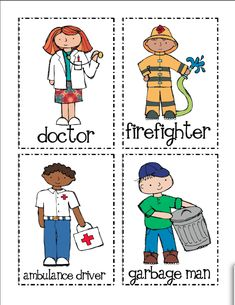 These free community helper sort and classify mats help kids learn about people who help us. They are great for Preschool, Pre-K and Kindergarten. Community Workers, School Community, Social Studies Communities, Community Helpers Crafts, People Who Help Us, Kindergarten Social Studies, Kindergarten Worksheets, Classroom Activities, Space Activities