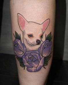 Image result for chihuahua tattoo