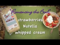 ▶ How do you top the World's Best Oatmeal? | Bob's Red Mill Quick Cooking Steel Cut Oats - YouTube