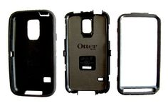 Otter black Case Defender Series for Samsung Galaxy S5 Pre-Owned  #OTTERBOX