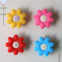 8Pcs/Lot Kids Children Novelty Wardrobe Drawer Cabinet Cupboard Flower Handles Knobs pulls #women, #men, #hats, #watches, #belts, #fashion