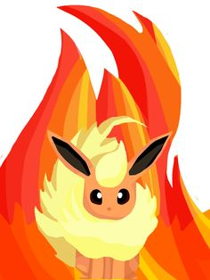 Flareon mini card by Loreleiwave.deviantart.com on @deviantART