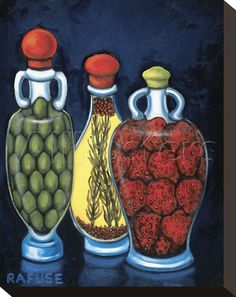 Fancy Oils I  By: Will Rafuse Item #: 10310857