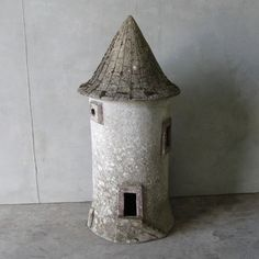 Faux-Bois Windmill Birdhouse