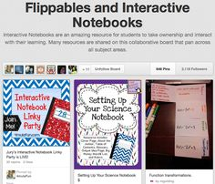 Follow --> Flippables and Interactive Notebooks