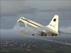 CCCP-77116 Tupolev Tu-144