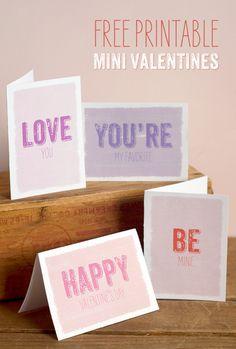 Mini tarjetas