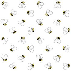 FREE #printable bumble #bee scrapbooking #paper, fun paper, DIY gift wrapping paper, book cover paper