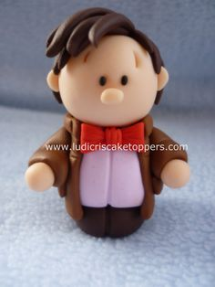 Doctor Who The 11th Doctor Fimo / Polymer clay by LudicrisToppers
