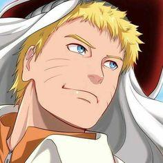 Naruto com chapéu de Hokague!!Que Lindo <3