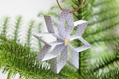 DIY: 8-takket julestjerne - StyleDesignCreate