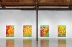 "to-see soon: ""CY TWOMBLY: The Last Paintings"" at Gagosian Beverly Hills (only up through June 9)"
