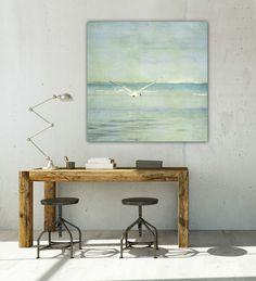 """Seaside 1"" Leinwand 1x1 Meter von BlickFangFotografie auf DaWanda.com"