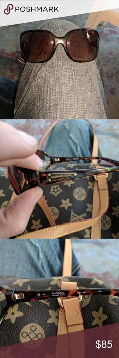 Polynesia Tortoise shell Michael Kors Sunglasses Great condition, barely used. Bought them for my GF for her birthday and she ended up not liking them. Michael Kors Accessories Glasses