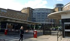 BBC television centre. Can't believe they're going to sell it!