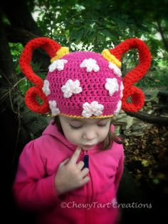 Team Umizoomi Milli inspired Hat by ChewyTartCreations on Etsy