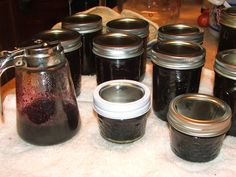Canning Granny: Canning Blueberry Syrup
