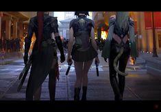 ArtStation - Urban Legends: Tale of the Cyber King, Brandon Liao