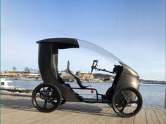 CityQ e-bike with weather protection. Modern history from 2016 to International tours of CityQ. Trike Bicycle, Pre Production, Bike Parts, Modern History, Tech, Vehicles, Flash Drive, Engineering, Design