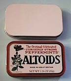 clayalley.com - Altoid sized empty mint tins and palm sized hinged tins and other cool craft supplies!