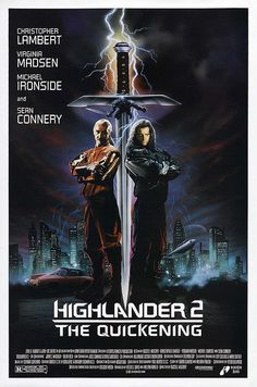 Highlander 2 - Sean Connery & Christopher Lambert