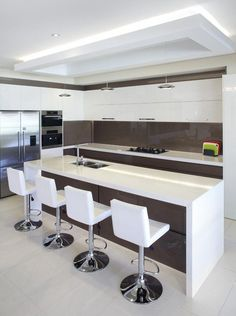 Kitchen Island Ideas - Use these great, captivating suggestions to upgrade your kitchen area island. Here are the best kitchen area island suggestions to maximize your room. Kitchen Room Design, Luxury Kitchen Design, Bathroom Design Luxury, Best Kitchen Designs, Kitchen Sets, Luxury Kitchens, Living Room Kitchen, Home Decor Kitchen, Interior Design Kitchen