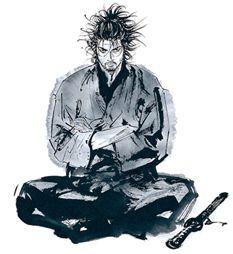 井上雄彥大師的水墨畫 我好愛
