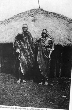 https://flic.kr/p/5sPQQ1 | Paramount Chief Kinyanjui and one of his wives