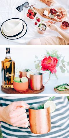 Refreshing Moscow Mules are great for Summer picnics and other celebrations.