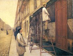 House Painters - Gustave Caillebotte - WikiPaintings.org