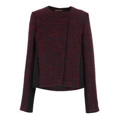 Platine - Veste - rouge et noir - Comptoir des Cotonniers - Ref: 1177102 | Brandalley