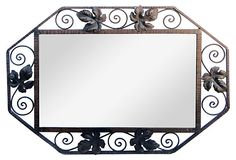 French Iron Mirror on OneKingsLane.com