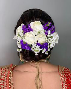 "Photo from Jyoti Bhaya ""Portfolio"" album Indian Bridal Hairstyles, Bun Hairstyles, Women's Shooting, Bridal Hair Buns, Hairstyle Wedding, Wedding Preparation, Photo Jewelry, Mehendi, Amazing Women"