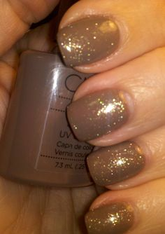 My new favorite: Shellac Rubble with Gold VIP ~ Angela