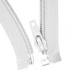 Teilbare Reißverschluss Weiß 35CM Nylon