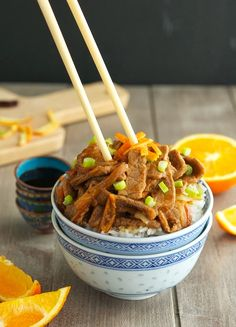 The Iron You - A healthy living blog with tasty recipes: Orange Beef (Low Carb & Gluten-Free)